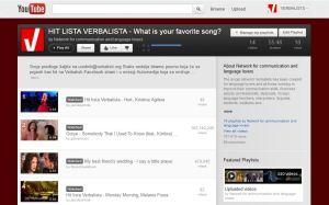 Hit lista Verbalista na Verbalisti YouTube kanalu