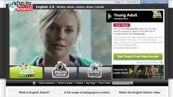 Kursevi engleskog preko interneta - English Attack!
