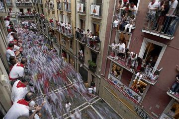 Pamplona, bulls run
