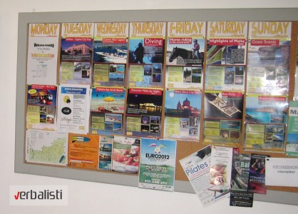 Verbalisti i program vannastavnih aktivnosti na Malti