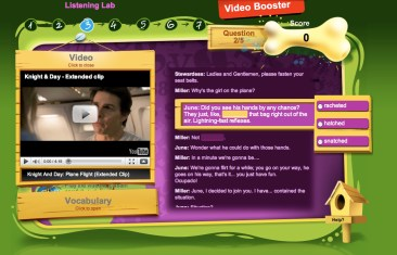 Kursevi engleskog online, Verbalisti, Video Booster - Listening Lab