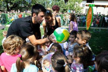 Novak Djokovic podrzao rad i ulaganje u rani razvoj dece i ucenje kroz igru, 12