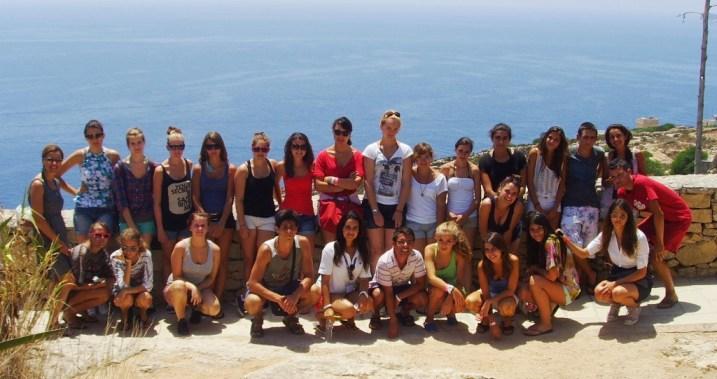 Letnja skola engleskog jezika na Malti sa jezickom mrezom Verbalisti