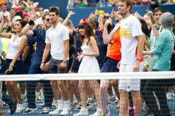 Novak Djokovic singing Call Me Maybe to Carly Rae Jepsen