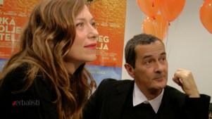 Glumica Branka Katic i reditelj Julian Farino