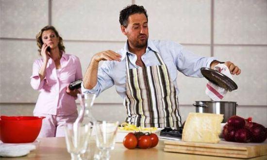 Muskarci koji kuvaju