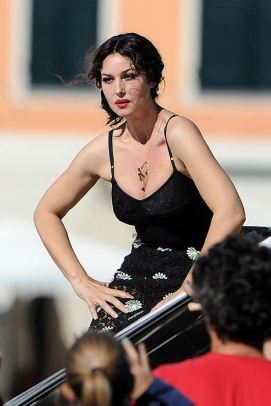Italijanska glumica u modnoj kampanji