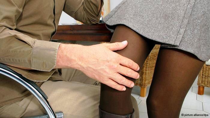 Nemacki jezik, seksualno uznemiravanje na poslu