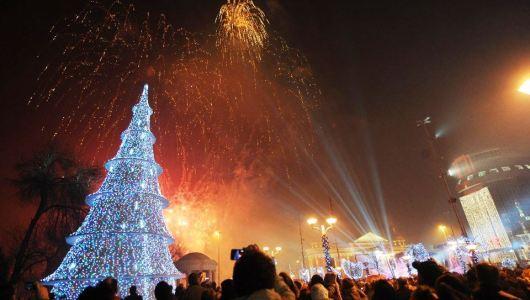 Skoplje Nova godina, novogodisnji trenutci