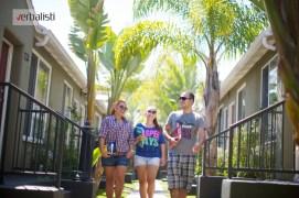 Engleski jezicki program, Verbalisti polaznici u studentskoj rezidencije u Holivudu