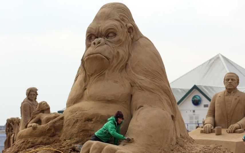 King of the beach - The mighty King Kong