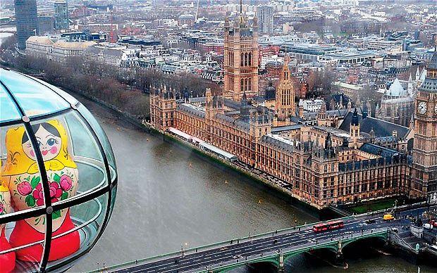 Rusiji kupuju London