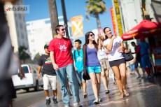 Setnja ulicom slavnih u Holivudu