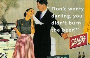 Stara reklama za pivo