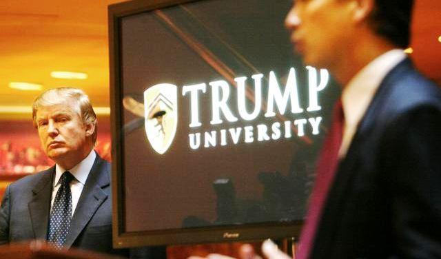 Donald Trump univerzitet