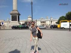 Ivana, Trafalqar Square, London