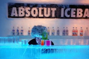 Absolut Icebar u Ledenom hotelu
