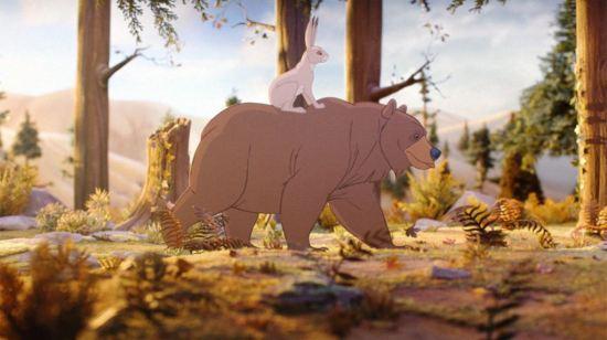 Bozicne reklame, Medved i zec, Verbalisti