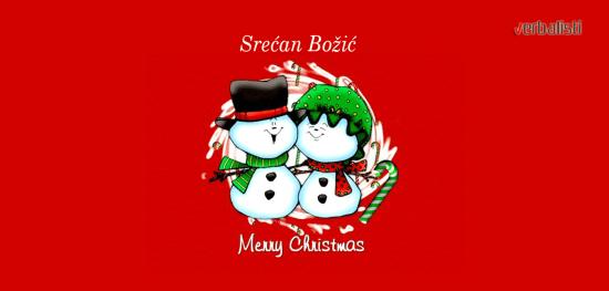 Merry Christmas, language network Verbalisti