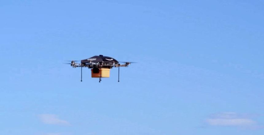 Najludji izumi, Amazon robot za brzu dostavu posiljke