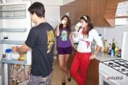 Polaznici jezicke mreze u jednom od stanova, smestaj na Ibici