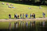 Walking around the Sefton Park lake, language travel My LIVERPOOL, Verbalisti