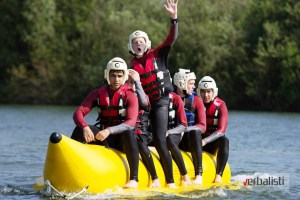 At New Forest Water Park 2, Kings Oxford, Verbalisti