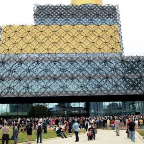 The Birmingham Library has taken five years and almost £190 million to complete