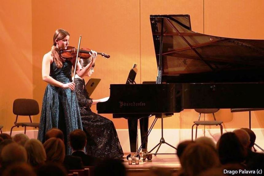 Una Stanić nastupa u Beču, Schubertsaal