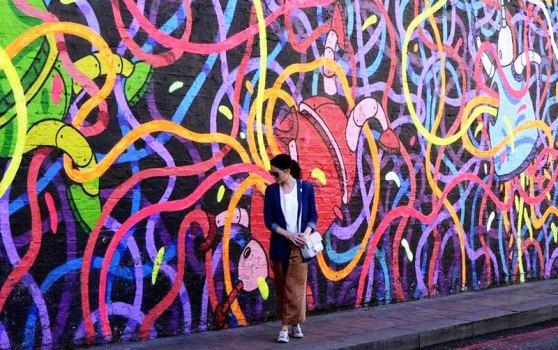Street art, East End