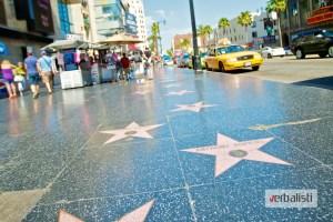 Hollywood Walk of Fame, Verbalisti