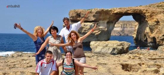 Kursevi engleskog jezika na ostrvu Gozo na Malti, Verbalisti