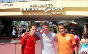 Universal Studios trip, Verbalisti