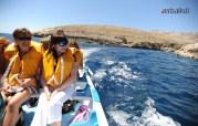 Voznja gliserom do i kupanje kraj ostrva Komino