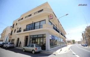 Zgrada skole IELS na ostrvu Gozo. Na drugom spratu se nalazi smeštaj Migiarro Residence