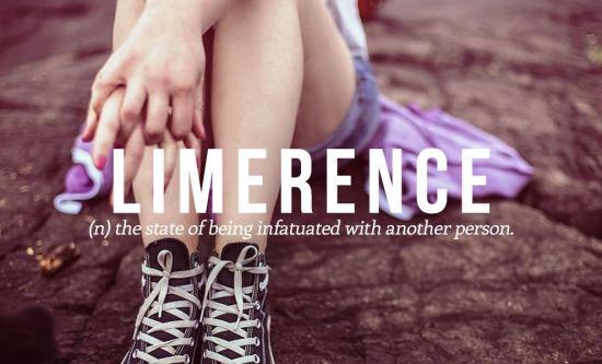 Recnik engleskih reci - Limerence