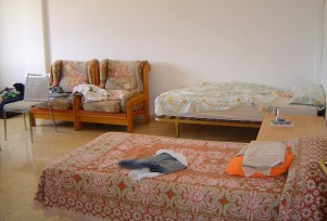 Spavaća soba studentskog stana