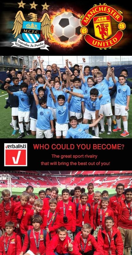 Manchester United i Manchester City skole fudbala i engleskog jezika, Verbalisti