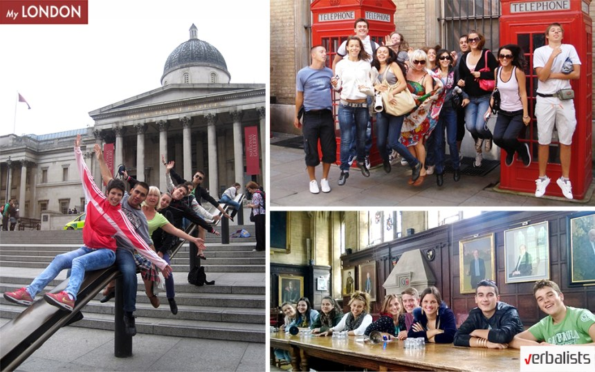 Jezičko putovanje My LONDON