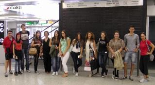 Letnja skola jezika sa Verbalistima, polaznici na Beogradskom aerodromu