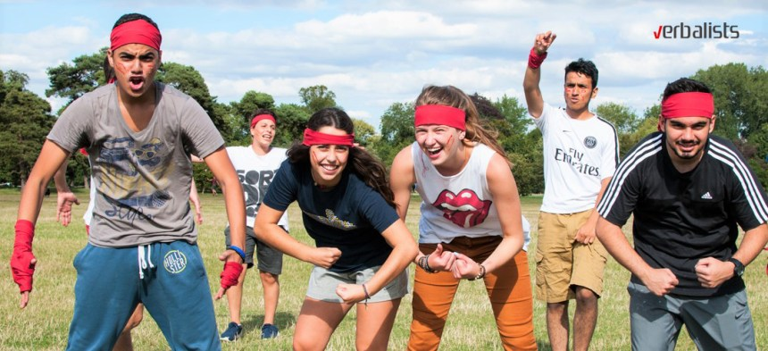 Sport i vannastavne aktivnosti letnje akademske skole jezika u Oxfordu, Verbalisti