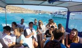 Vožnja gliserom, Blue Lagoon, Malta