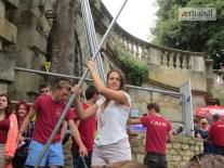 Aleksandra Kukic punting