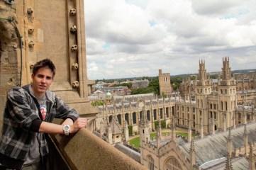 Matej Milenković u Oxfordu