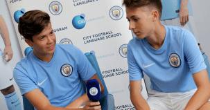 Fudbalski kampovi za decu, Man City - intervju za medije, Verbalisti