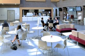 Kafeterija i restoran, Kingston University