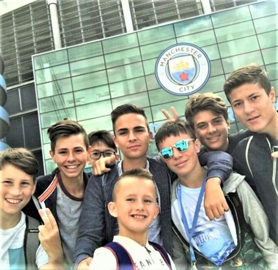 Fudbalski kamp za decu Manchester City, Andrija Stoimenov, Verbalisti