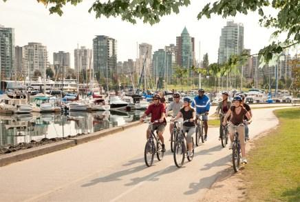 Voznja biciklom u Vankuveru
