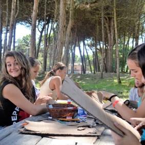 Čas italijanskog i kreativna radionica u prirodi, škola italijanskog u Linjanu