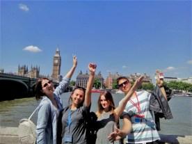 pored Temze idelmo ka London Eye